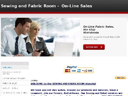 The Sewing &amp; fabric Room (613-258-2663) - Website thumbnail - http://www.sewingandfabricroom.com/index.html