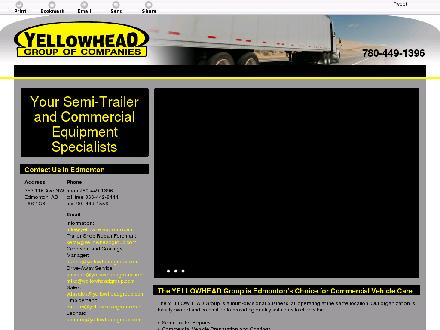 Yellowhead Trailer Repair & Service Ltd (780-449-1396) - Website thumbnail - http://yellowheadgroup.ca/