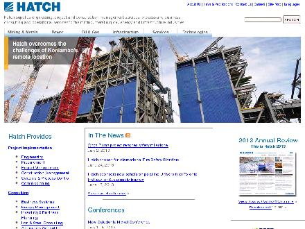 Hatch Ltd (204-786-8751) - Onglet de site Web - http://www.hatch.ca
