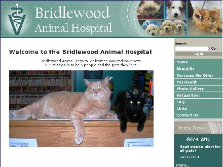 Bridlewood Animal Hospital (613-599-6447) - Onglet de site Web - http://www.bridlewoodanimalhospital.ca