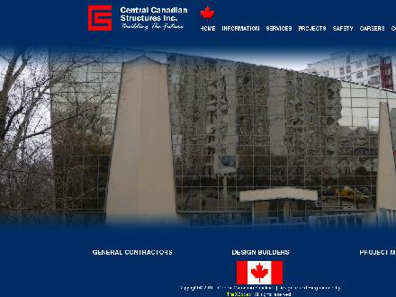 Central Canadian Structures Inc (204-488-1200) - Onglet de site Web - http://ccsl.ca/