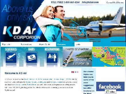 K D Air Corp (1-800-665-4244) - Website thumbnail - http://www.kdair.com