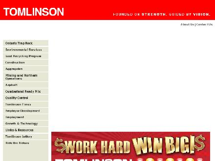 Tomlinson Waste Management (613-821-0478) - Website thumbnail - http://www.tomlinsongroup.com