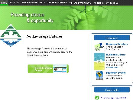NT Temps Inc (705-435-1540) - Website thumbnail - http://www.nottawasaga.com
