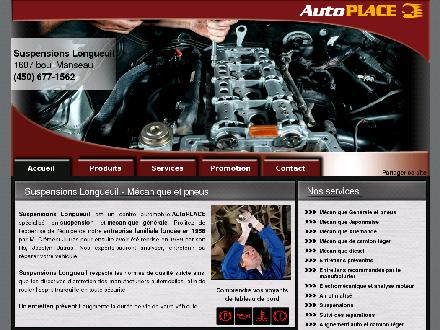 Suspensions Longueuil Inc (450-677-1562) - Onglet de site Web - http://www.suspensionslongueuil.com