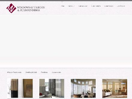Windows of Fashion (204-896-4100) - Onglet de site Web - http://www.windows-of-fashion.com