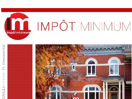 Impot Minimum (418-523-3333) - Website thumbnail - http://www.impotminimum.com