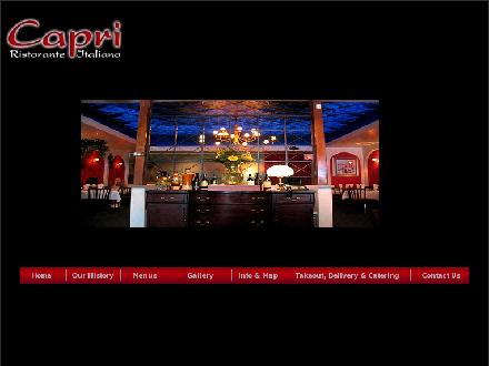 Capri Family Restaurant (905-525-7811) - Website thumbnail - http://www.capriristorante.ca