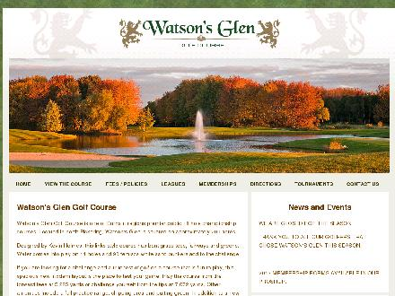 Watson's Glen Golf Course (905-655-9187) - Website thumbnail - http://www.watsonsglen.com