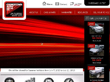 Cookstown Auto Centre Ltd (647-495-8488) - Website thumbnail - http://www.cookstownauto.com