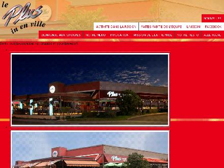 Restaurant Plus Bar (819-758-9927) - Onglet de site Web - http://www.plusrestaurantbar.com