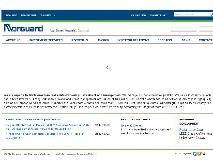 Morguard Investments Limited (905-281-3800) - Website thumbnail - http://www.morguard.com