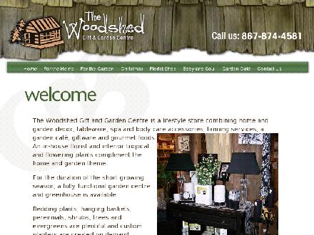 Woodshed Gift & Garden Centre The (867-874-4581) - Website thumbnail - http://www.woodshed.ca