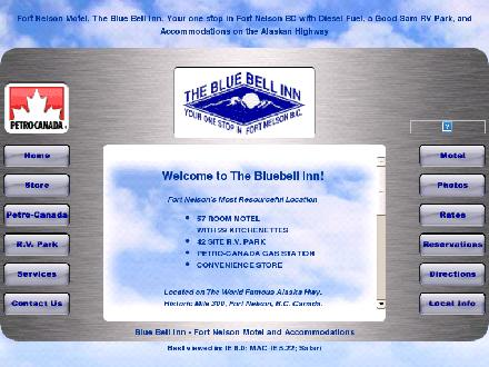 BlueBell Inn (250-774-6961) - Website thumbnail - http://www.bluebellinn.ca