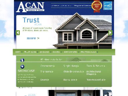 RONA (709-758-6237) - Website thumbnail - http://www.acanwindows.com