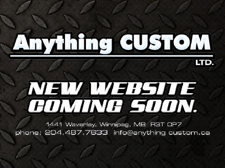 Anything Custom (204-487-7633) - Website thumbnail - http://www.anythingcustom.ca