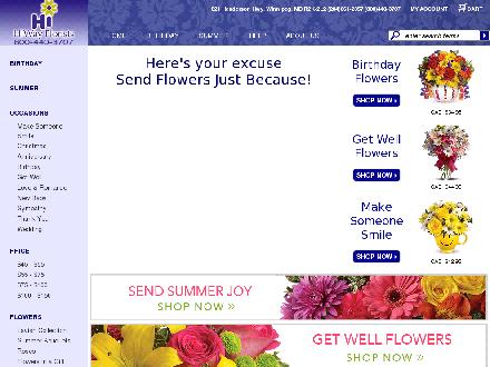 HiWay Florists (204-661-2357) - Website thumbnail - http://www.hiwayflorists.com
