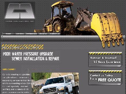 Cona Contracting Inc (905-981-1425) - Onglet de site Web - http://www.conainc.com