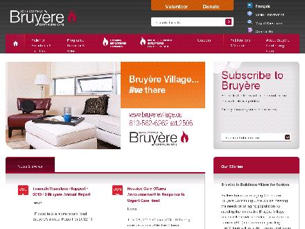 Bruyère Continuing Care (613-562-6262) - Website thumbnail - http://www.bruyere.org