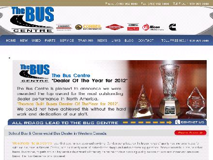 The Bus Centre (780-962-4645) - Onglet de site Web - http://www.thebuscentre.com