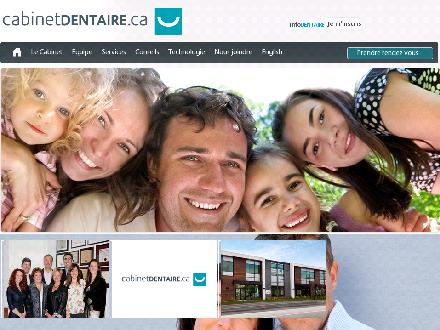 Cabinetdentaire.ca (514-637-2385) - Website thumbnail - http://www.cabinetdentaire.ca