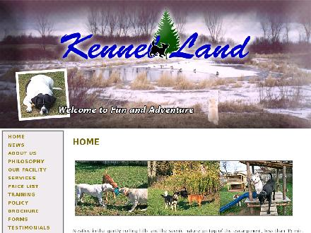 Kennel Land (519-853-9680) - Website thumbnail - http://www.kennelland.com