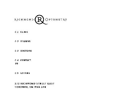 Richmond Optometry (416-363-9154) - Onglet de site Web - http://www.richmondoptometry.ca