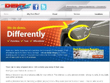 Dent Clinic (403-340-3177) - Website thumbnail - http://www.dentclinic.com