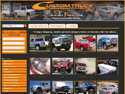 Custom Truck Parts (403-817-9934) - Onglet de site Web - http://www.customtruckpartsinc.com