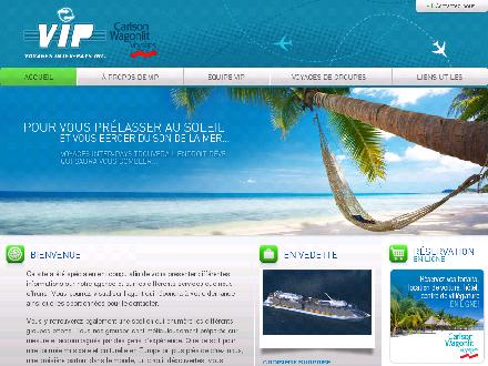 Voyages Inter-Pays Inc (418-687-9121) - Website thumbnail - http://www.voyagesinterpays.com/index.html