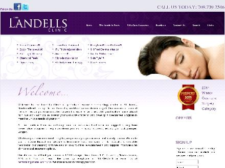 Landells Clinic Of Cosmetic Dermatology The (709-700-0896) - Website thumbnail - http://www.landellsclinic.ca