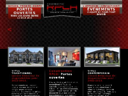 Excavation Robert Pothier (819-864-5000) - Onglet de site Web - http://www.gestionrplh.com