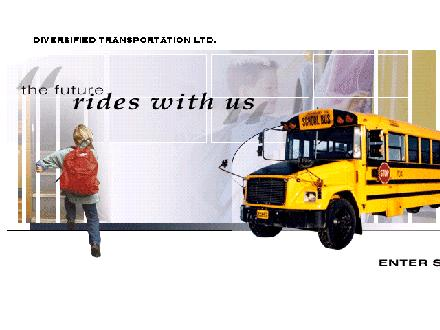Diversified Transportation Ltd (250-774-3767) - Website thumbnail - http://www.diversifiedschoolbus.com