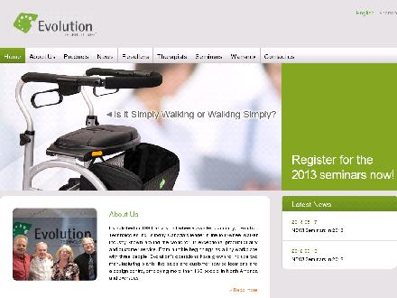 Evolution Whistler (604-932-2967) - Website thumbnail - http://www.evolution.ca