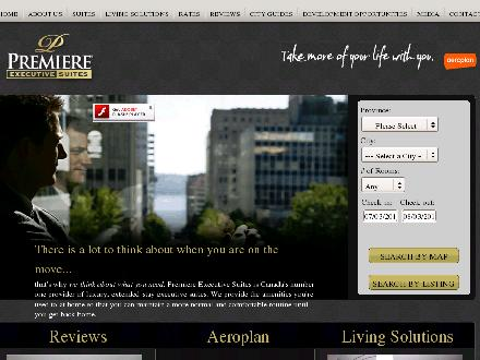 Premiere Executive Suites (905-565-0422) - Website thumbnail - http://www.premieresuites.com