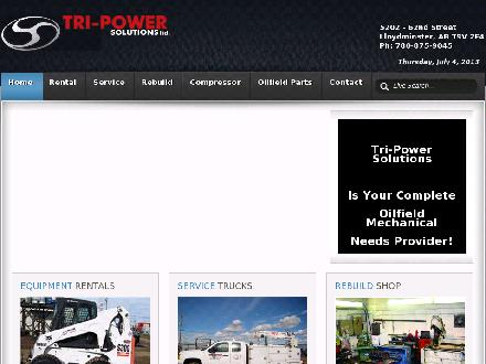 Tri-Power Rebuilding Corp (780-875-2921) - Website thumbnail - http://www.tri-powersolutions.ca