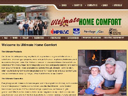 Ultimate Home Comfort Inc (902-832-2575) - Onglet de site Web - http://www.ultimatehomecomfort.com