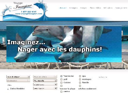 Voyage-Imagine Micy Inc (450-665-8686) - Website thumbnail - http://www.voyageimagine.ca