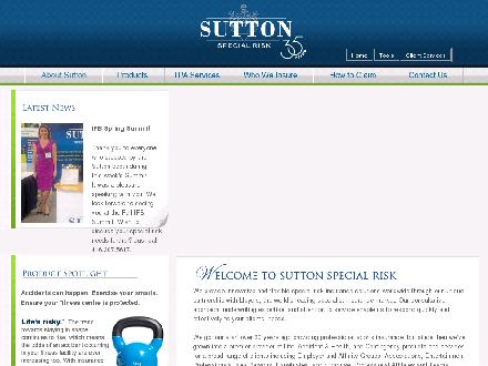 Sutton Special Risk Inc (416-366-2223) - Website thumbnail - http://www.suttonspecialrisk.com