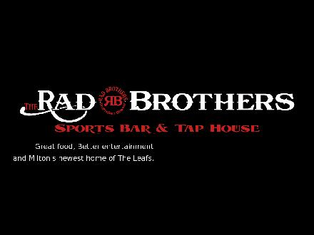 The Rad Brothers (905-875-1119) - Onglet de site Web - http://www.theradbrothers.com
