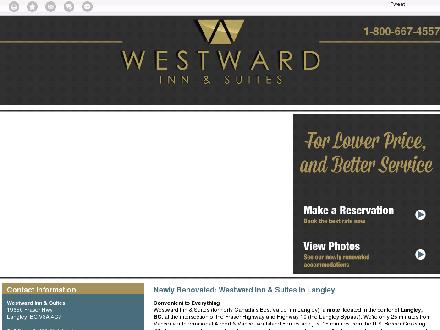 Westward Inn & Suites (604-534-9238) - Website thumbnail - http://westwardinnandsuites.com/