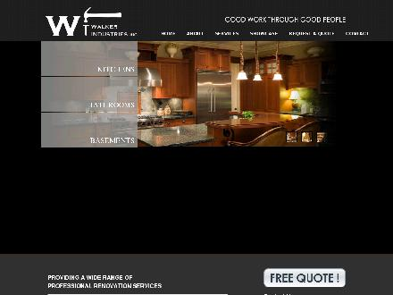 Walker Industries Inc (403-703-4830) - Onglet de site Web - http://www.walkerrenovations.ca