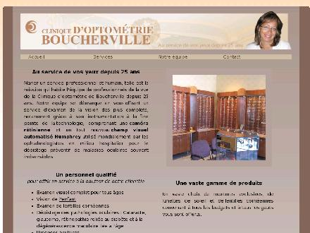 Clinique D'Optom&eacute;trie Boucherville (450-641-0442) - Onglet de site Web - http://www.optoboucherville.com