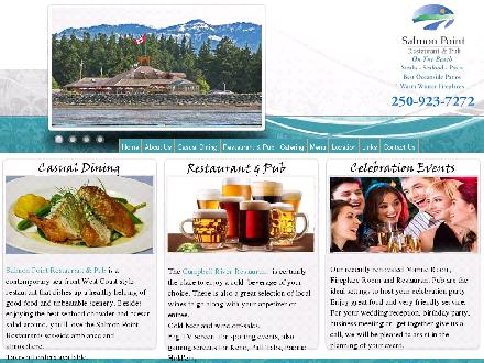Salmon Point Restaurant & Pub (250-923-7272) - Onglet de site Web - http://www.salmonpointrestaurant.com