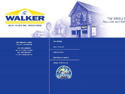 Walker G Real Estate Inc Brokerage (905-648-0088) - Onglet de site Web - http://www.gwalker.ca