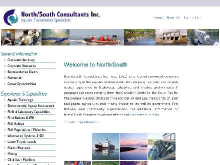 North-South Consultants Inc (204-284-3366) - Onglet de site Web - http://www.nscons.ca