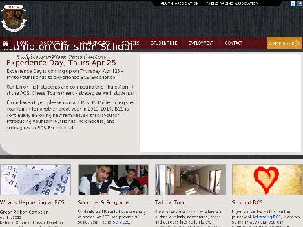 Brampton Christian Schools (289-801-3236) - Onglet de site Web - http://www.bramptoncs.org