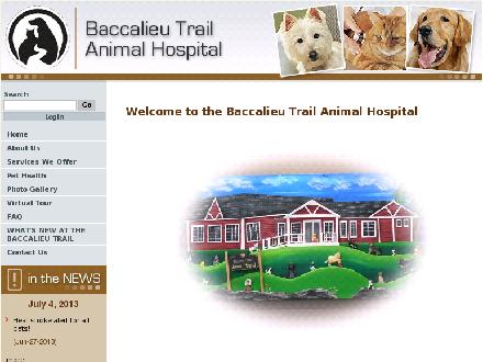 Placentia Bay Veterinary Clinic (1-888-202-0468) - Website thumbnail - http://www.btah.ca