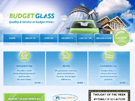 Budget Glass (250-756-8301) - Website thumbnail - http://www.budgetglass.com