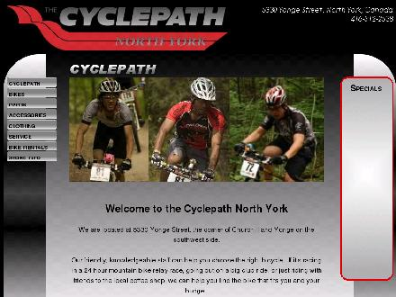 Cyclepath (416-512-2538) - Website thumbnail - http://www.cyclepathnorthyork.com